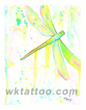 Print #100_040 Dragonfly